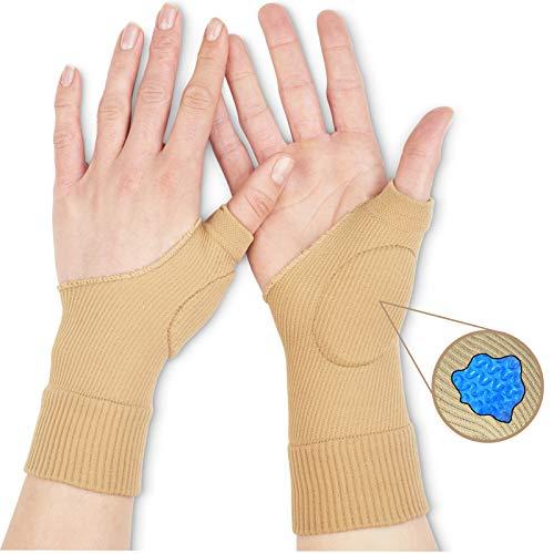 Medipaq® Daumenbandage/Gel-Manschette, schützt und stützt bei Verletzungen des Daumens, Handgelenks oder schmerzhafter Arthritis