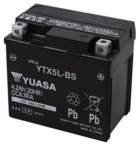 TAIWAN YUASA [ 台湾ユアサ ] シールド型 バイク用バッテリー YTX5L-BS