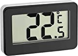 TFA Dostmann digitales Thermometer 30.2028.01, schwarz