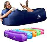 Wekapo Inflatable Lounger Air Sofa Hammock-Portable,Water Proof& Anti-Air Leaking Design-Ideal Couch...