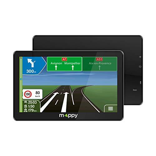 Mappy GPS Maxi E738 (Écran : 7 Pouces - 24 pays - Mise à jour gratuite...