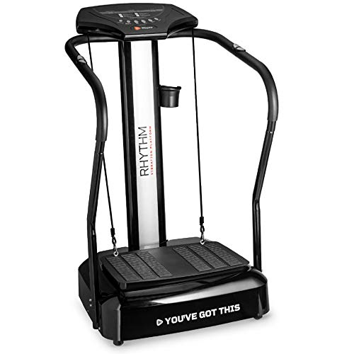 LifePro Rhythm Viberation Plate Machine - Professional Whole Body Vibration Platform for Home Fitness - Viberation Excersize Machine for Awesome Cardio Workout & Weight Loss 1