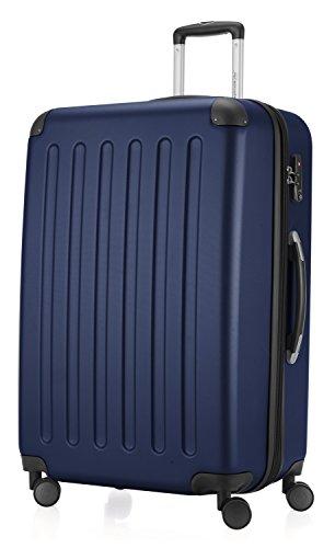 Hauptstadtkoffer 42246366, Trolley da Viaggio, colore Blu Scuro, 75 cm