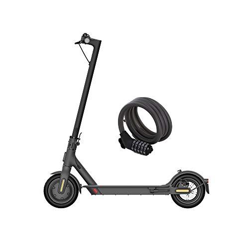Xiaomi Mi Electric Scooter Électrique Indispensable, Version Amazone avec Cadenas Inclus, Autonomie de 20 km, Vitesse Jusqu'à 20 km/h, Mixte Enfant, Noir, 1080 mm