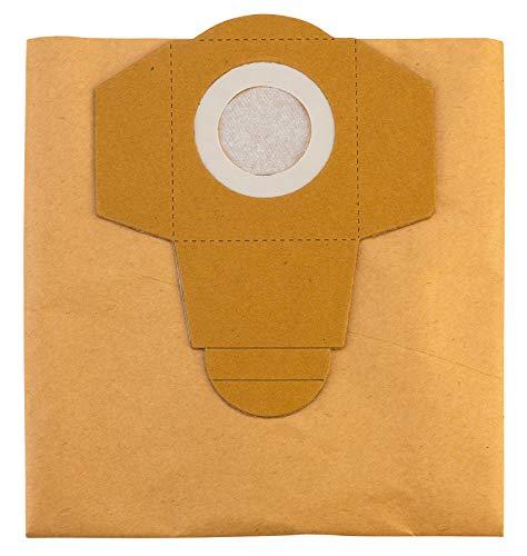 Einhell 2351152 Sacchetti per Aspiratutto in Carta, 5 Pezzi, 20 L, Beige