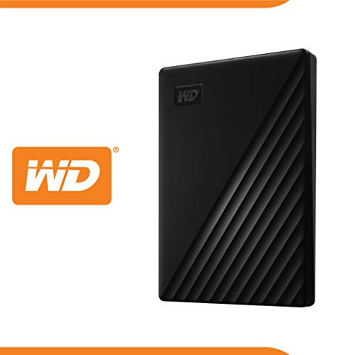WD My Passport Hard Disk Portatile con Protezione Tramite Password e Software di Backup Automatico,...