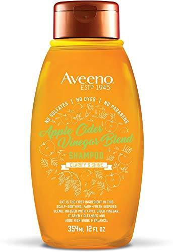 Aveeno Apple Cider Vinegar Sulfate-Free Shampoo...
