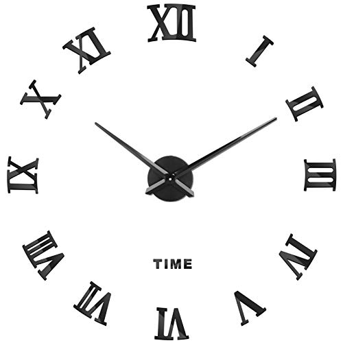 SOLEDI Orologio da Parete Silenzioso Preciso Fai da Te 60-120cm Facile da Montare Effetto 3D...