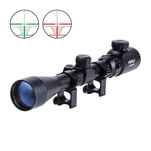 Pinty 3-9X40 Red Green Rangefinder Illuminated Optical Rifle...