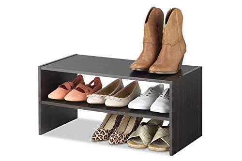 Heera Moti Corporation Shoes Rack, Cabinet, 6-Pair Shoe Rack (Finish :-Walnut pre- Laminated Matt)