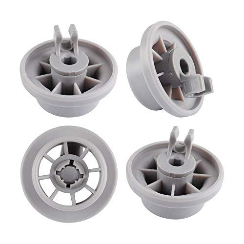 4 ruote inferiori per cestello della lavastoviglie per Grundig