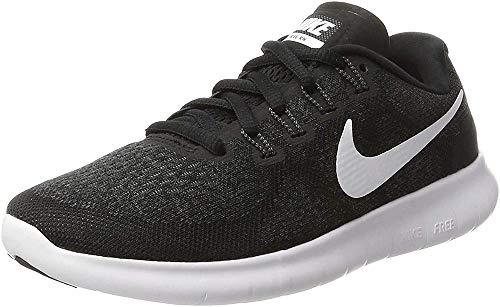 Nike Damen Free Running Laufschuhe, Schwarz, 38 EU