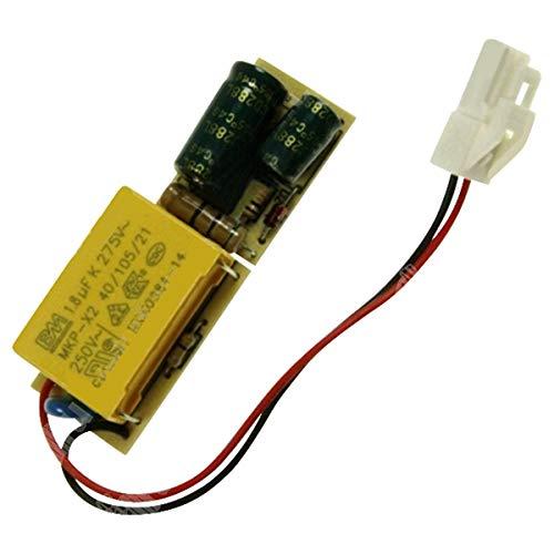 CANDY 41041487 - Piastra elettronica LED per frigorifero, congelatore