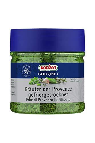 Kotanyi Gourmet Kräuter der Provence gefriergetrocknet | wie erntefrisch, charaktervolle Würze, 400 ml