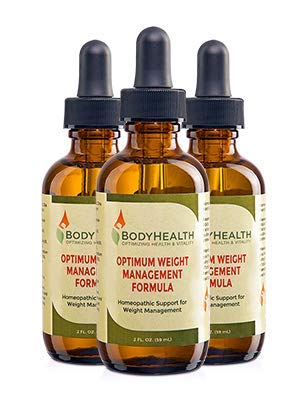 BodyHealth Optimum Weight Management Formula (60 Day Supply) Natural Weight Loss Liquid Drops, for Rebalancing Metabolic Hormones, with Medically Designed Diet Plan, Quality Ingredients 3