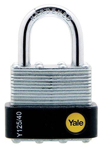 Yale Y125/40/163/1 Candado De Seguridad Arco Largo, 40 Mm