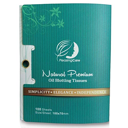 Natural Bamboo Charcoal Oil Absorbing Tissues -...