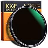 K&F Concept Filtro ND2-ND32 (5 Stops) da 72mm Filtro Densità Neutra Regolabile ND2 ND4 ND8 ND16 ND32, Filtro Fotografia Variabile Vetro Ottico 18 Strati MRC Nano-Rivestimento per obiettivi 72mm