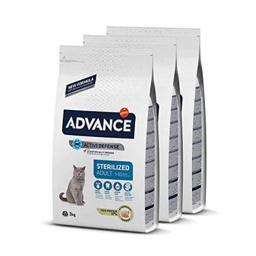 ADVANCE Adult Sterilized - Pienso Para Gatos Adultos Esterilizados Con...