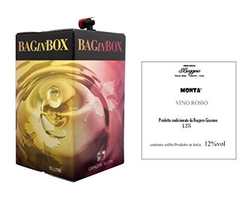 Boggero Bogge Wine - Vino rosso Dolcetto'Mont' Bag in box 10 L
