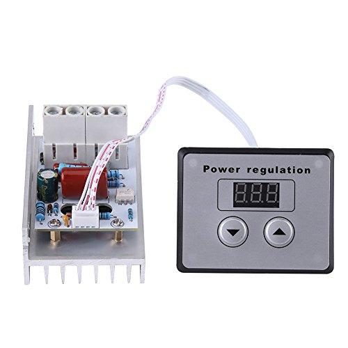 10000W SCR Regolatore di Tensione Digitale Regolatore di Velocit del Pannello del Modulo Dimmer Termostato AC 220V 80A[Classe di efficienza energetica A]