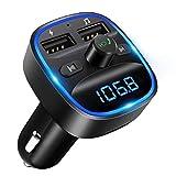 [2020 Version] LENCENT Transmetteur FM Bluetooth, Bluetooth Lecteur MP3...