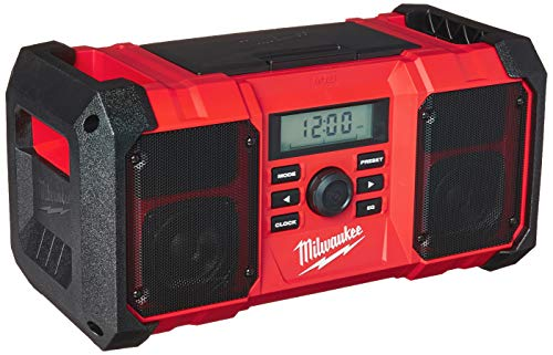 Milwaukee 2890-20 18V Dual Chemistry M18 Jobsite Radio with Shock Absorbing...
