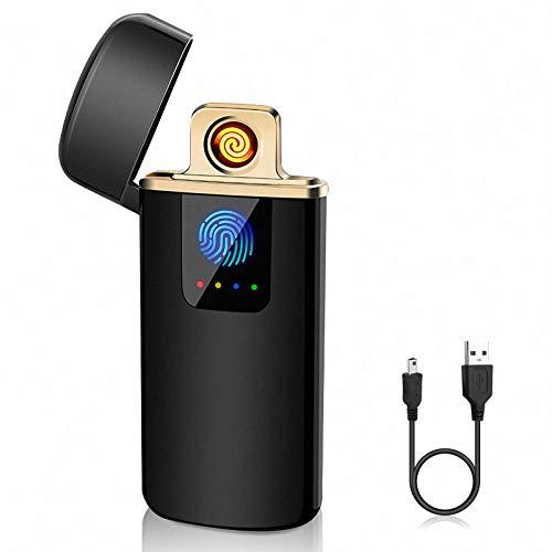ASANMU Mechero Electrico, USB Encendedor Electrico Pantalla