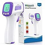 Termometro Infrarrojos Wawech termometro digital sin contacto termómetro infrarrojo de frente para adultos bebés y niños
