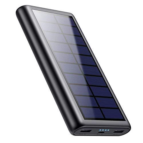 Feob 26800mAh Power Bank Solare, Caricabatterie...