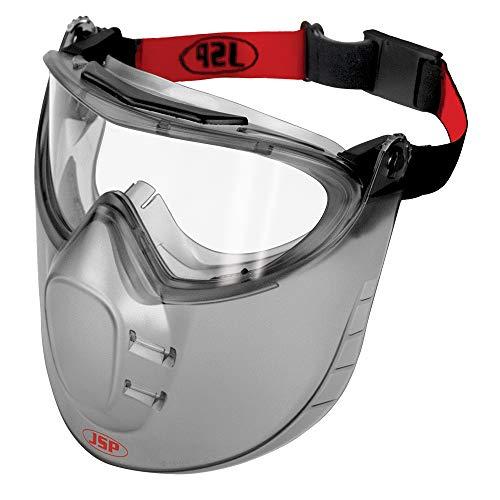 JSP, maschera con visiera protettiva AGW010-603-000,Stealth 9200, classe N