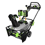 EGO Power+ SNT2102 21-Inch 56-Volt Cordless Snow Blower with Peak Power Two 5.0Ah Batteries and Charger Included