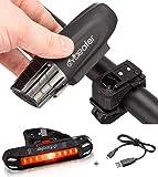 Cycleafer Éclairage Vélo Bicyclettes VTT USB Rechargeable Avant...