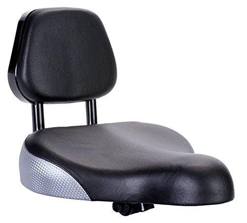 Sunlite Backrest Saddle, 9 x 11', Black