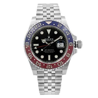 "Rolex GMT-Master II""Pepsi"" Men's Luxury Watch 126710BLRO"
