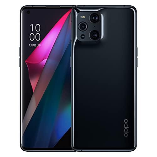 OPPO Find X3 Pro【日本正規代理店品】 グロスブラック SIMフリー版 5G Android simfree スマホ 本体 急速充電 大容量バッテリー 高性能カメラ スマートフォン 防水防塵 IP68