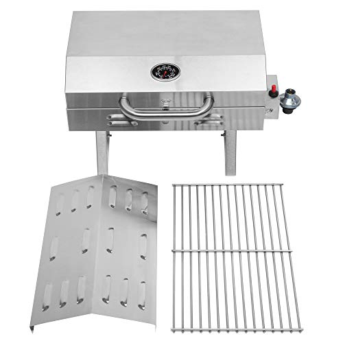 Product Image 4: ROVSUN Portable Propane Gas Grill 12,000BTU, Tabletop Outdoor Cooking Grill for Picnic Camping Tailgating Patio Garden BBQ, <a href=