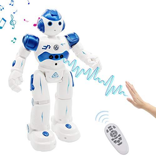 NEWYANG Robot de Juguete - Juguete Educativo electrónico...