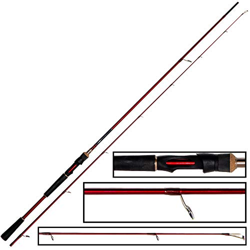 Westin W6 Powershad - Canna da pesca da spinning 240 cm MH 15-40 g
