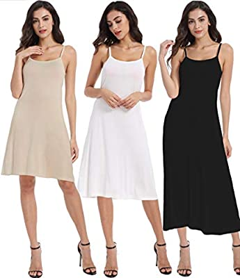 100% modal,stretchy breathable light weight fabric with great touch,Super soft and comfortable Wear it as a long slip under dress,or as a layering piece,Perfect for party,wedding,club,night out Made of slinnky material,Very soft and comfortable like ...