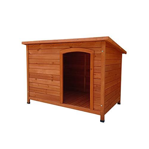 Gardiun KNH1260 - Caseta de Perro de madera Lupy a 1 agua 116x76x82 cm