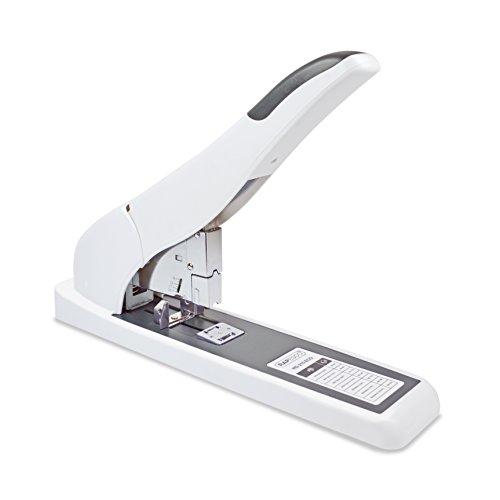 Rapesco 1397 Cucitrici per alti spessori ECO HD-210, Cuce fino a 210 fogli (80gsm), Colore: Bianco