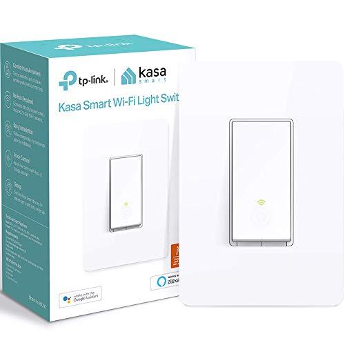 Kasa Smart Light Switch HS200, Single Pole, Needs Neutral Wire, 2.4GHz Wi-Fi Light Switch Works…