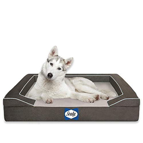 Sealy Lux Pet Dog Bed   Quad Layer Technology with...
