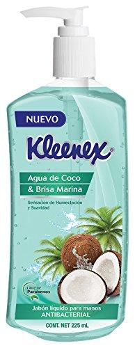 Kleenex Jabón Líquido para Manos, Coco y Brisa Marina, 225 ml