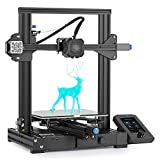 Official Creality Ender 3 V2 Upgraded 3D Printer Integrated Structure Design with Carborundum Glass Platform Silent Motherboard and Branded Power Supply