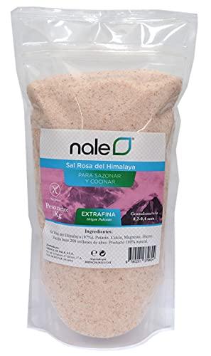 Sal del Himalaya Rosa fina 1 Kg / 100% natural , sin refinar