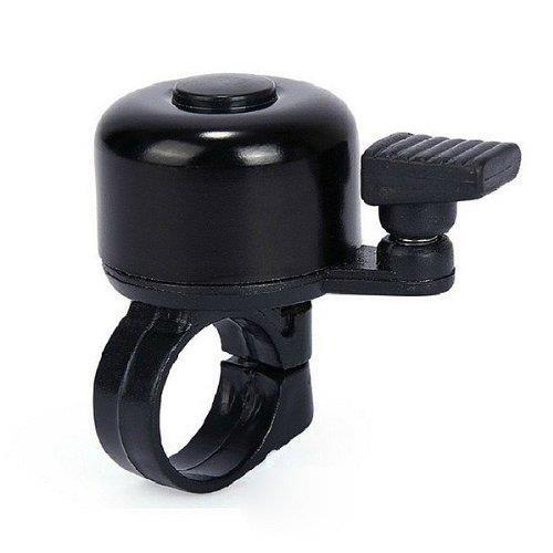 T3 schwarz Glo Mini Klingel Fahrrad Glocke laut und hell Bell