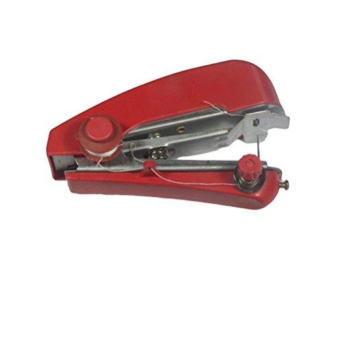 Ultnice - Macchina da cucire manuale senza fili portatile per la cucitura