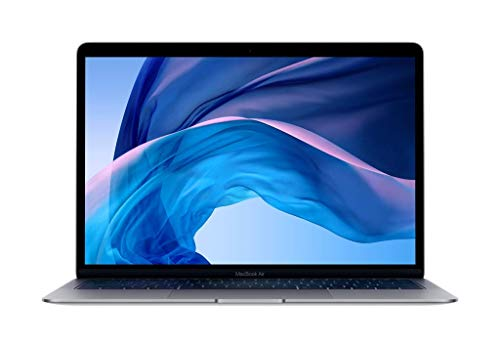 Apple 13.3 inches MacBook Air with Retina Display, Intel Core i5 8th Gen Dual-Core, 8GB RAM, 128GB SSD - Mid 2019, Space Gray MVFH2LL/A (Renewed)